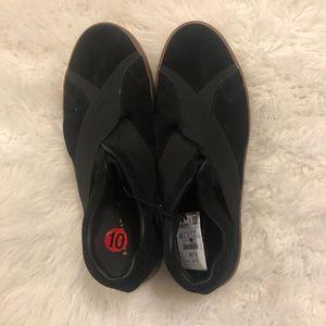 Zara Man 43 Women SZ 10 Black Sneakers NWT